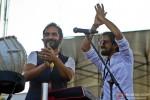Karsh Kale and Ankur Tewari at maiden concert in India