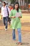 Konkona Sen on the sets of 'Ek Thhi Naayka' Pic 3