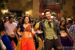Madhuri Dixit and Ranbir Kapoor in a still from 'Ghagra' song from Yeh Jawaani Hai Deewani Movie Stills