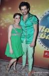 Mahi And Jay Bhanushali on the sets of 'Nach Baliye 5'