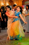 Mahie Gill and Soha Ali Khan In Saheb Biwi Aur Gangster Returns Movie Stills