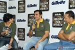 Mandira Bedi, Arbaaz Khan and Rahul Bose at the 'Gillette Soldier for Women' Press Conference Pic 1