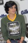 Mandira Bedi at the 'Gillette Soldier for Women' Press Conference
