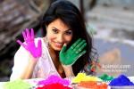 Manisha Kelkar play Holi at Kamal Air Compound Pic 1