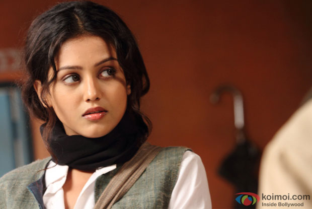 Indrani Chakraborty (Mishti) On The Sets Of Kaanchi Movie