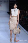 Model walks the ramp at 'Lakme Fashion Week 2013' Pic 3