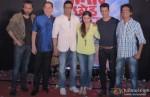 Mukul Dev, Dalip Tahil, Jaaved Jafferi, Soha Ali Khan and Sharman Joshi at 'War Chhod Na Yaar' First Look Launch