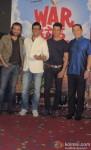 Mukul Dev, Jaaved Jafferi, Sharman Joshi and Dalip Tahil at 'War Chhod Na Yaar' First Look Launch