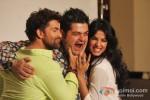 Neil Nitin Mukesh, Dabboo Ratnani And Sonal Chauhan hot photoshoot for '3G' Movie