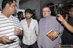 Neil Nitin Mukesh and Nitin Mukesh at Sonu Nigam's Mother's Prayer Meet