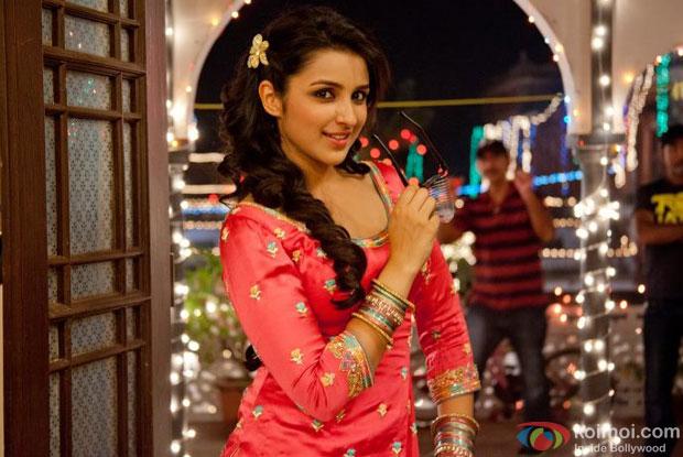 Parineeti Chopra in a still from Ishaaqzaade Movie