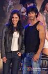 Pooja Chopra And Vidyut Jamwal performs stunts at 'Commando' music launch Pic 1