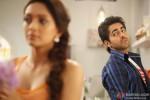 Pooja Salvi and Ayushmann Khurrana in Nautanki Saala Movie Stills