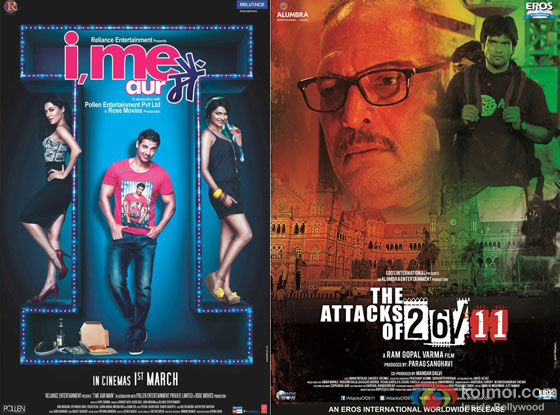 I Me Aur Main and The Attacks Of 26/11 Movie Poster