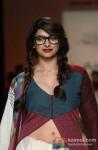 Prachi Desai walks the ramp at 'Lakme Fashion Week 2013' Pic 1