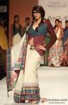 Prachi Desai walks the ramp at 'Lakme Fashion Week 2013' Pic 2