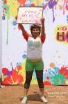 Rakhi Sawant play Holi at 'Zoom Holi Party' Pic 1