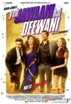 Ranbir Kapoor, Deepika Padukone, Aditya Roy Kapur and Kalki Koechlin Yeh Jawaani Hai Deewani Movie Poster