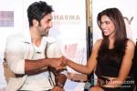 Ranbir Kapoor And Deepika Padukone At Yeh Jawaani Hai Deewani Trailer Launch Pic 2