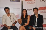Ranbir Kapoor, Deepika Padukone, Karan Johar At Yeh Jawaani Hai Deewani Trailer Launch