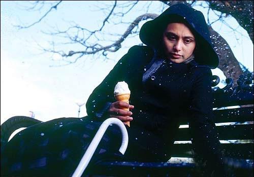Rani Mukerji in a still from Black Movie