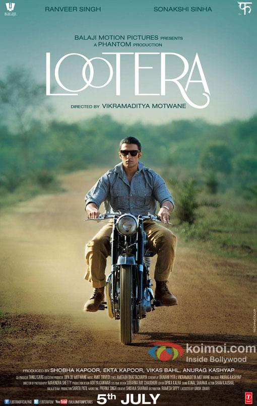 Ranveer Singh Lootera Poster