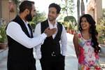 Ranvir Shorey, Tusshar Kapoor and Vishakha Singh in Bajatey Raho Movie Stills