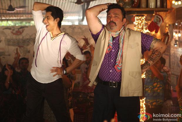 Rishi Kapoor and Ali Zafar in Chashme Baddoor