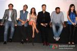 Rudrarup Datta, Dibakar Banerjee, Zoya Akhtar, Karan Johar, Anurag Kayshap At Bombay Talkies Trailer Launch