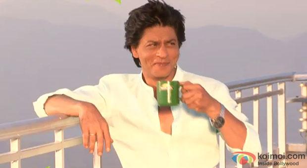 Shah Rukh Khan on the sets of Tata Tea – Jaago Re Ad Making