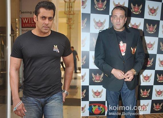Salman Khan And Sanjay Dutt