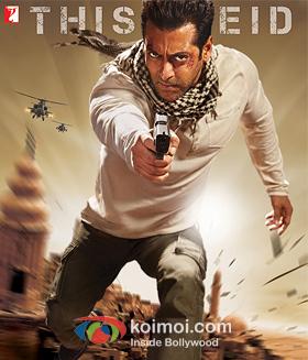 Salman Khan In Ek Tha Tiger Movie Poster