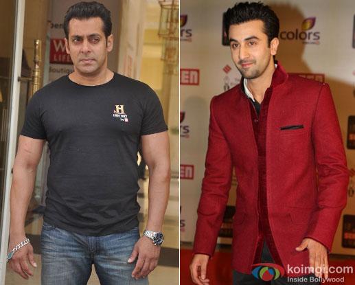 Salman Khan and Ranbir Kapoor