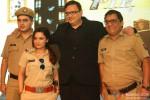 Sandeep Anand, Chitrashi Rawat, Anooj Kapoor and Gopi Bhalla at SAB TV's Serial 'FIR' Press Meet