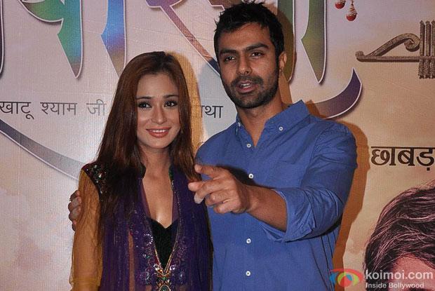 Sara Khan With Ashmit Patel