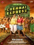 Shah Rukh Khan And Deepika Padukone In Chennai Express Movie Poster 1