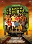Shah Rukh Khan And Deepika Padukone In Chennai Express Movie Poster 2