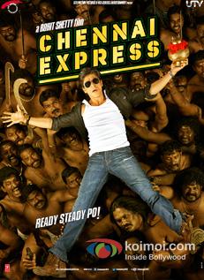 `Shah Rukh Khan In Chennai Express Movie Poster