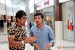 Siddharth and Divyendu Sharma in Chashme Baddoor Movie Stills