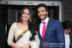 Sonakshi Sinha And Ranveer Singh At First Look Launch of 'Lootera' Pic 1