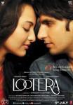 Sonakshi Sinha and Ranveer Singh in Lootera Movie Poster