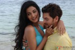 Sonal Chauhan and Neil Nitin Mukesh In 3G Movie Stills Pic 3