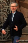 Spotted: Steven Spielberg Coming Out Of Reliance Entertainment Office Pic 2