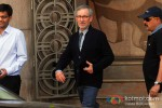 Spotted: Steven Spielberg Coming Out Of Reliance Entertainment Office Pic 3