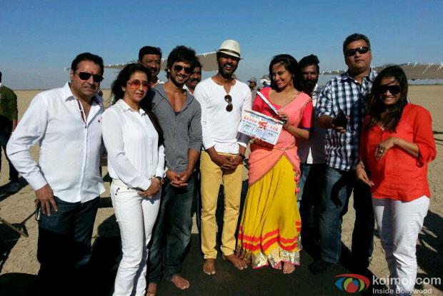 On The Sets Of 'Rambo Rajkumar'