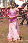 Toral Rasputra At Colors Holi Party