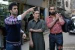 Tusshar Kapoor, Vinay Pathak and Ranvir Shorey in Bajatey Raho Movie Stills