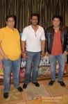 Vashu Bhagnani, Ajay Devgan And Sajid Khan At Himmatwala Press Conference in Bangalore Pic 1