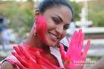 Veena Malik Playing Colour Holi Pic 4