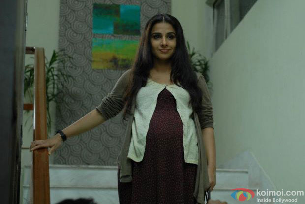 Vidya Balan in a still from Kahaani Movie